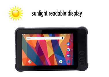 China Water Resistant Rugged Sunlight Readable Tablet With MTK Quad Core Android 8.1 O.S factory