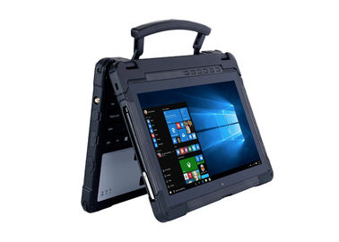 CE Approved Black Tough Rugged Laptops , 11.6 Inch Rugged Outdoor Laptop